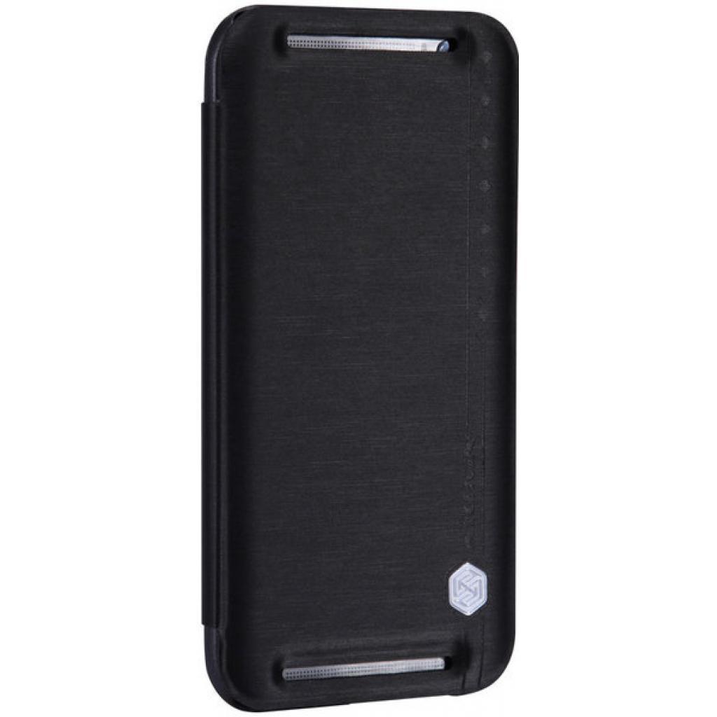 Чехол для моб. телефона для HTC ONE (M8) /Rain Leather Case/Black NILLKIN (6138252) изображение 5