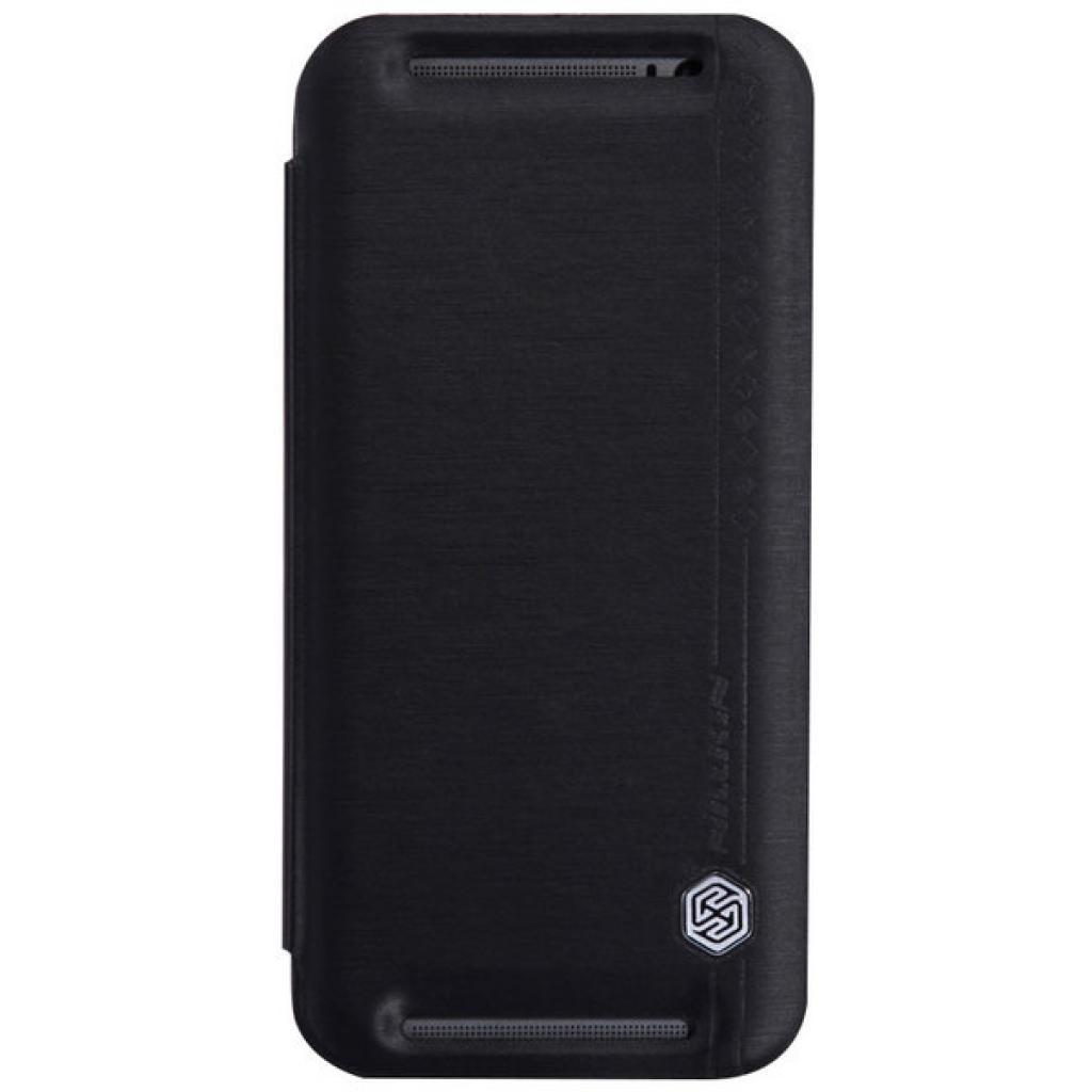 Чехол для моб. телефона для HTC ONE (M8) /Rain Leather Case/Black NILLKIN (6138252)