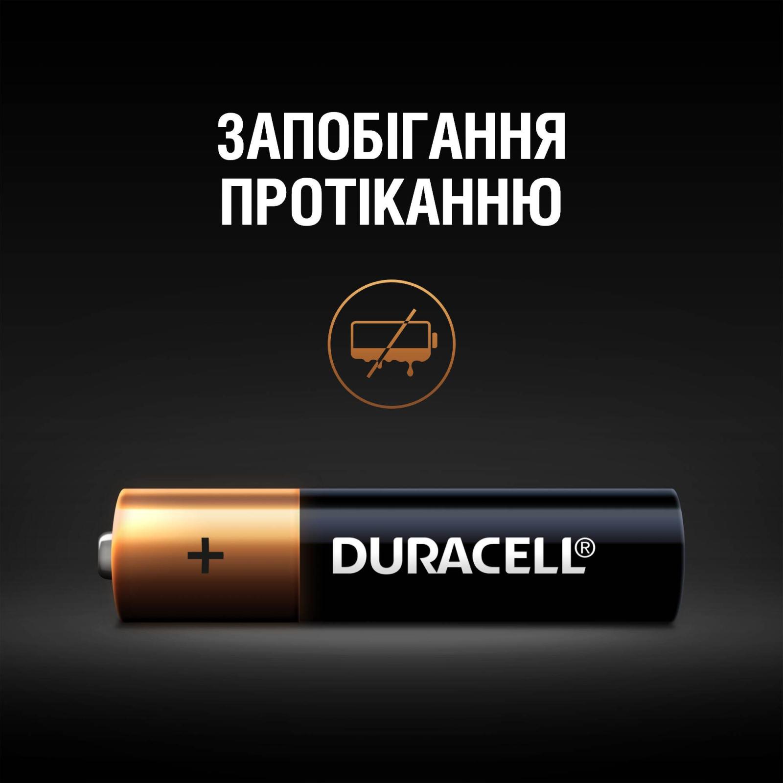 Батарейка Duracell AAA MN2400 LR03 * 12 (5000394109254 / 81545432) изображение 6