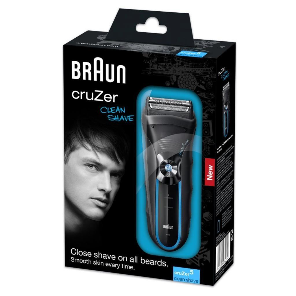 Электробритва BRAUN CruZer 5 Clean Shave изображение 3
