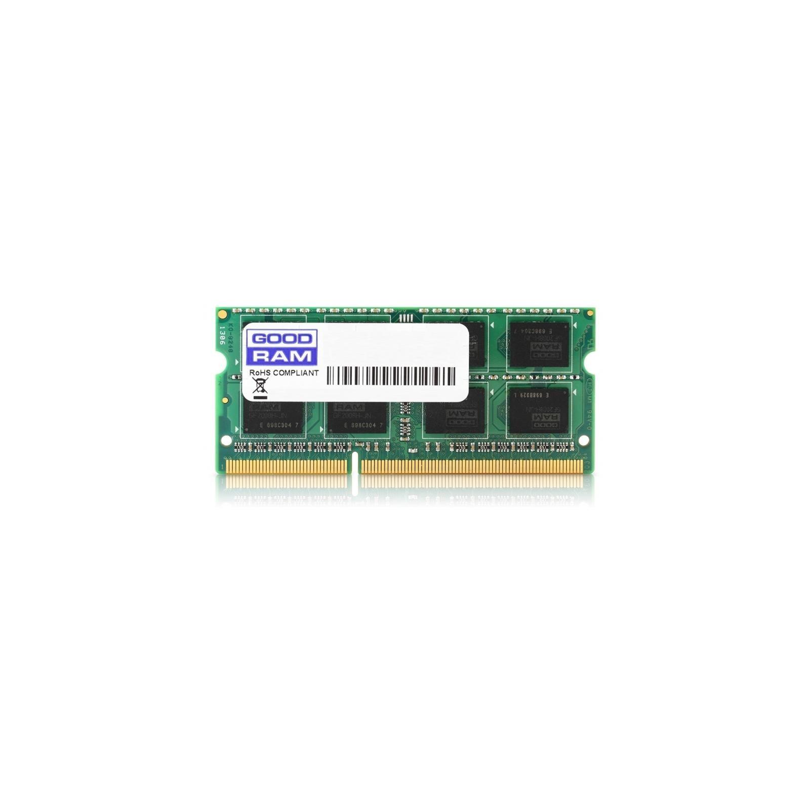 Модуль памяти для ноутбука SoDIMM DDR3 2GB 1600 MHz GOODRAM (GR1600S364L11/2G)
