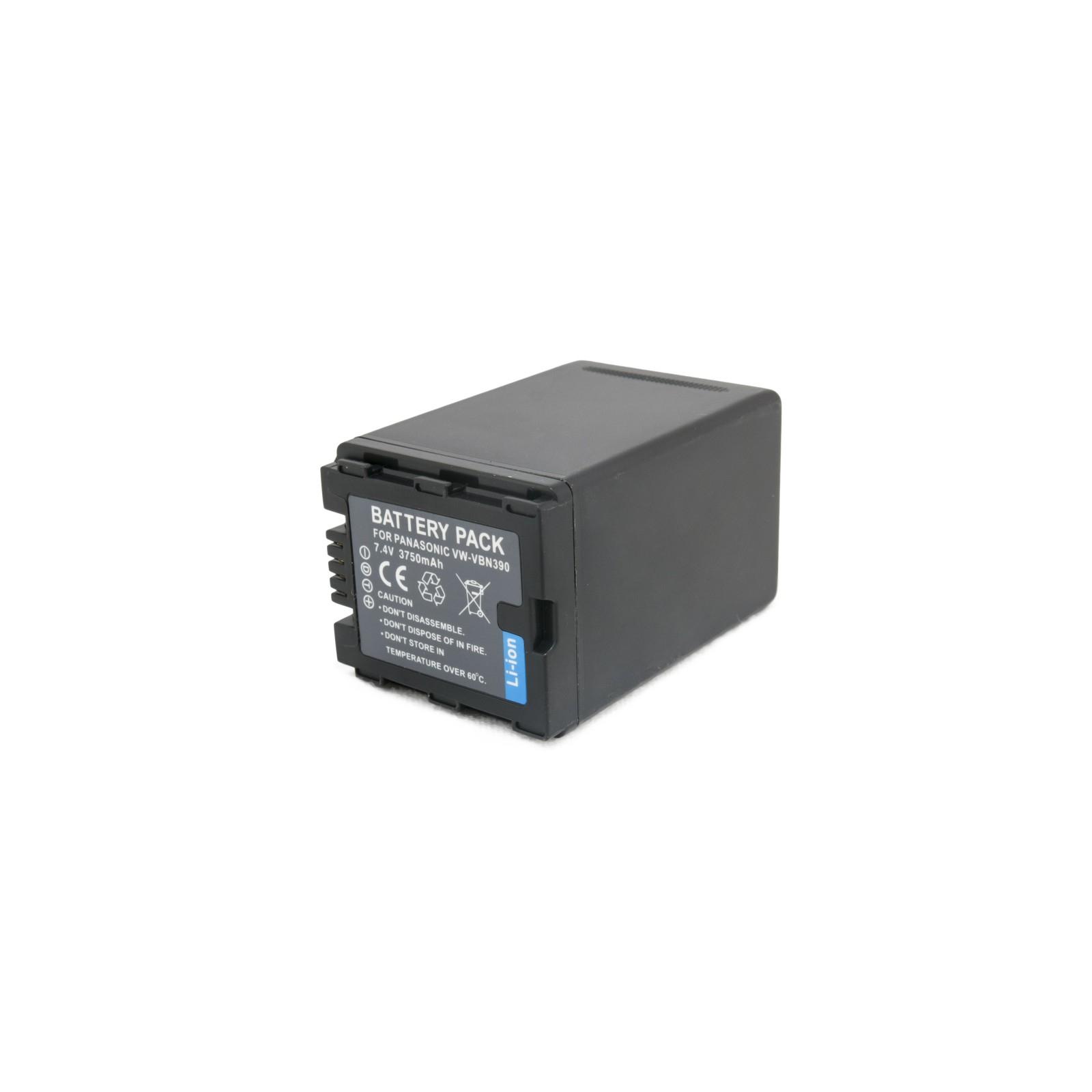 Аккумулятор к фото/видео EXTRADIGITAL Panasonic VW-VBN390 (DV00DV1365) изображение 2
