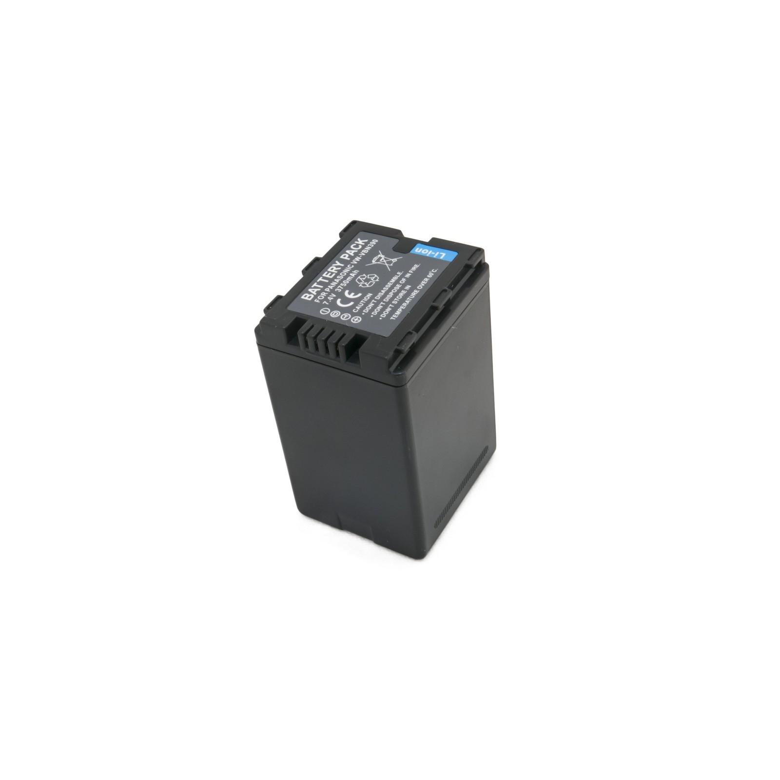 Аккумулятор к фото/видео EXTRADIGITAL Panasonic VW-VBN390 (DV00DV1365) изображение 4