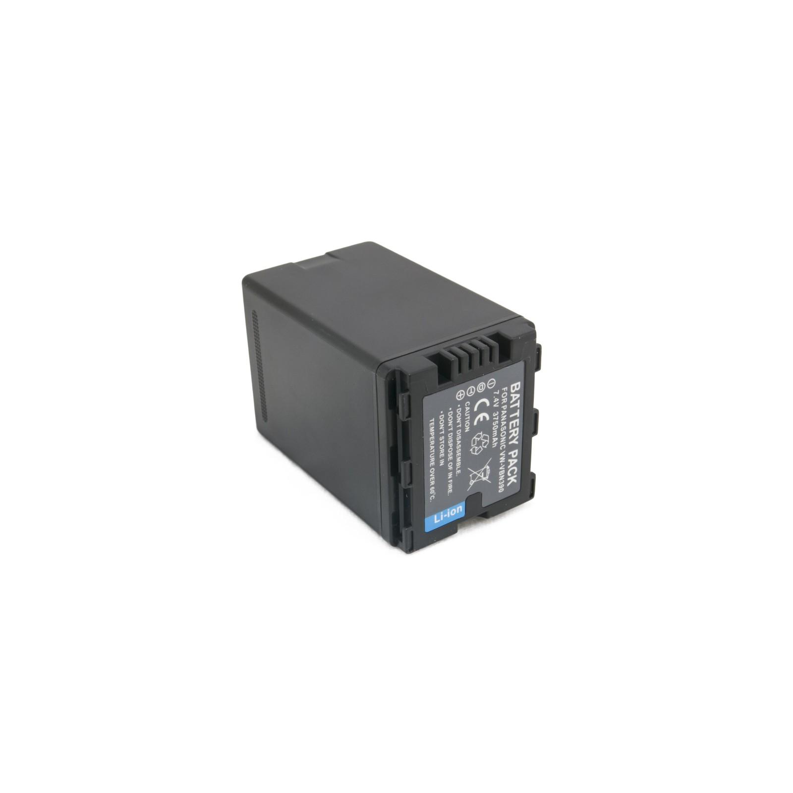 Аккумулятор к фото/видео EXTRADIGITAL Panasonic VW-VBN390 (DV00DV1365) изображение 6