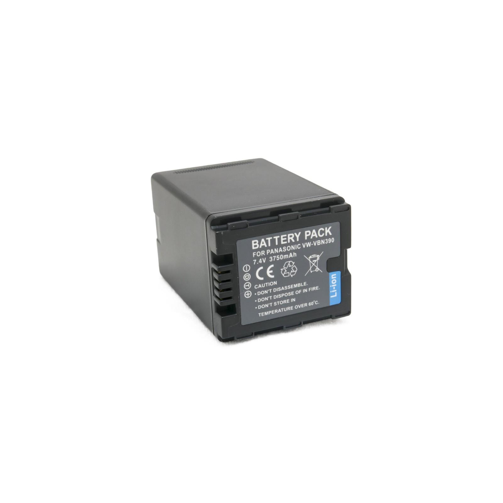 Аккумулятор к фото/видео EXTRADIGITAL Panasonic VW-VBN390 (DV00DV1365)