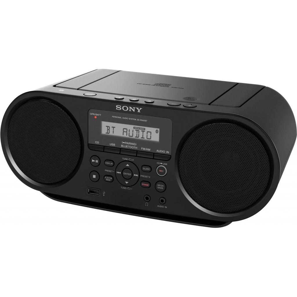 Магнитола SONY ZS-RS60BT (ZSRS60BT.RU5) изображение 2