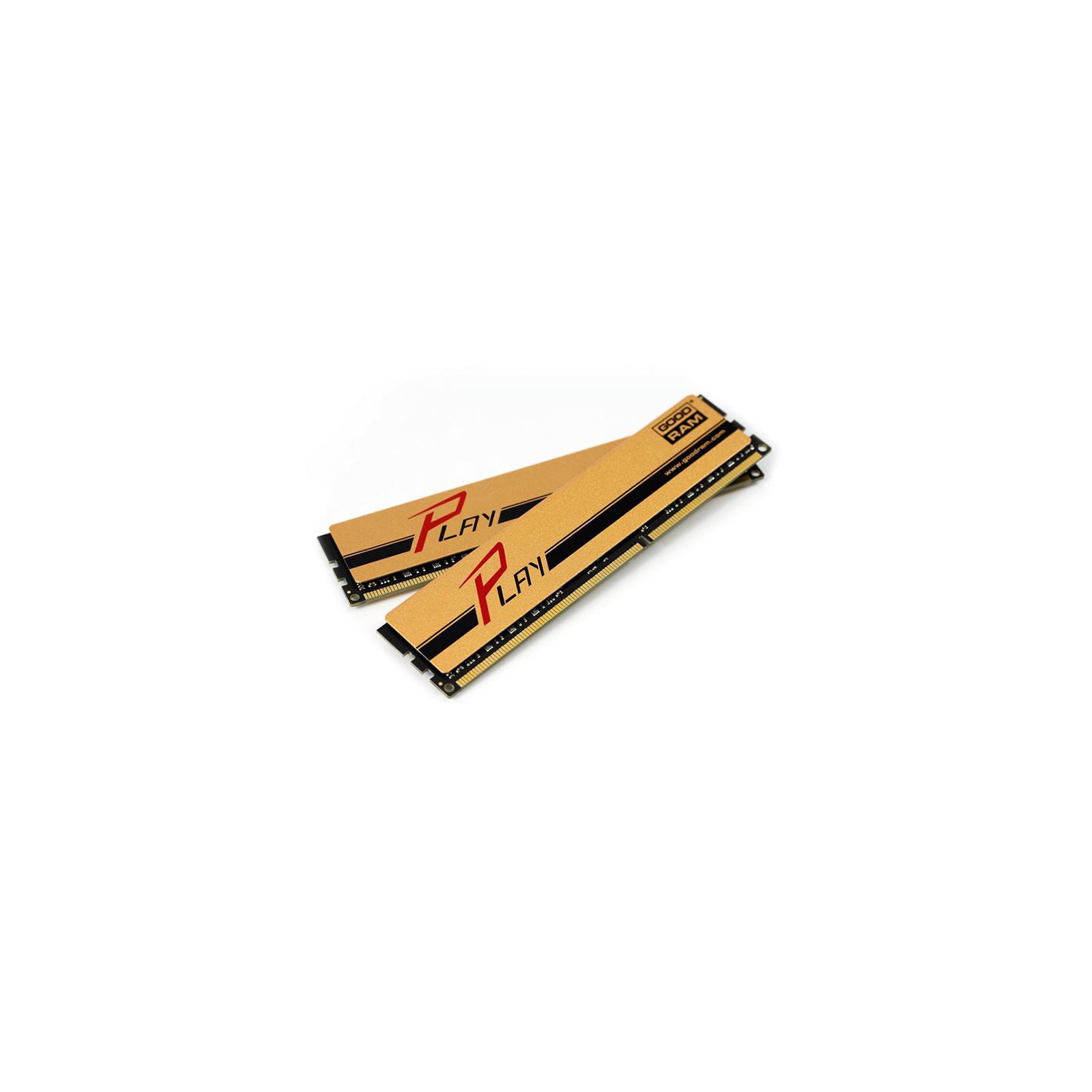 Модуль памяти для компьютера DDR3 8GB (2x4GB) 1866 MHz PLAY Gold GOODRAM (GYG1866D364L9AS/8GDC) изображение 2