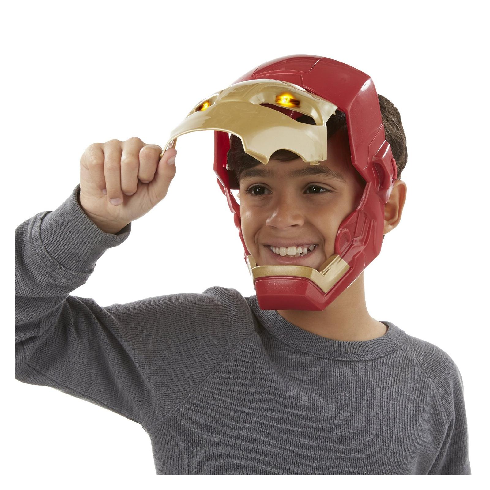 Игровой набор Hasbro Электронная маска Железного Человека (B5784) изображение 4