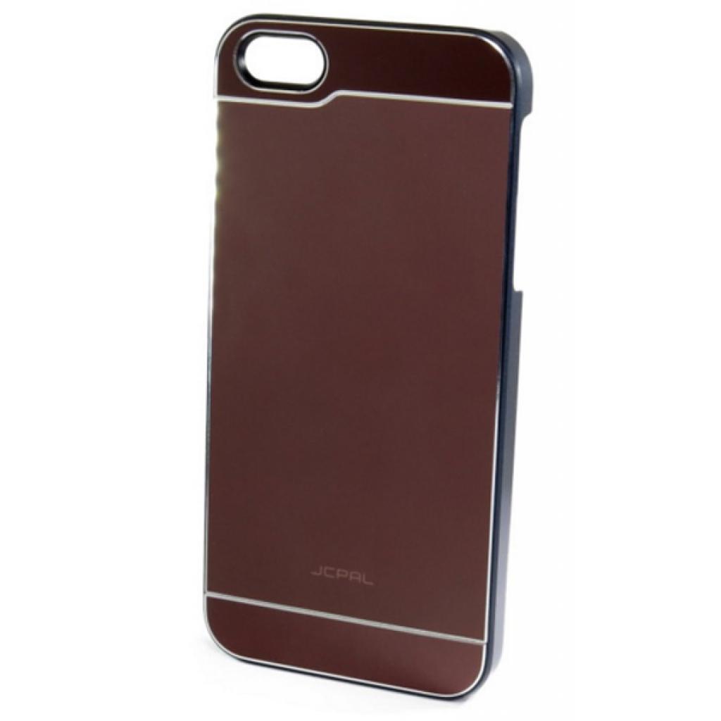 Чехол для моб. телефона JCPAL Aluminium для iPhone 5S/5 (Smooth touch-Brown) (JCP3106) изображение 2