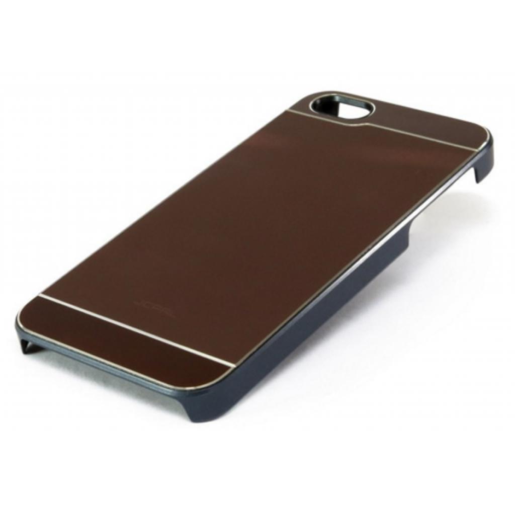 Чехол для моб. телефона JCPAL Aluminium для iPhone 5S/5 (Smooth touch-Brown) (JCP3106) изображение 3