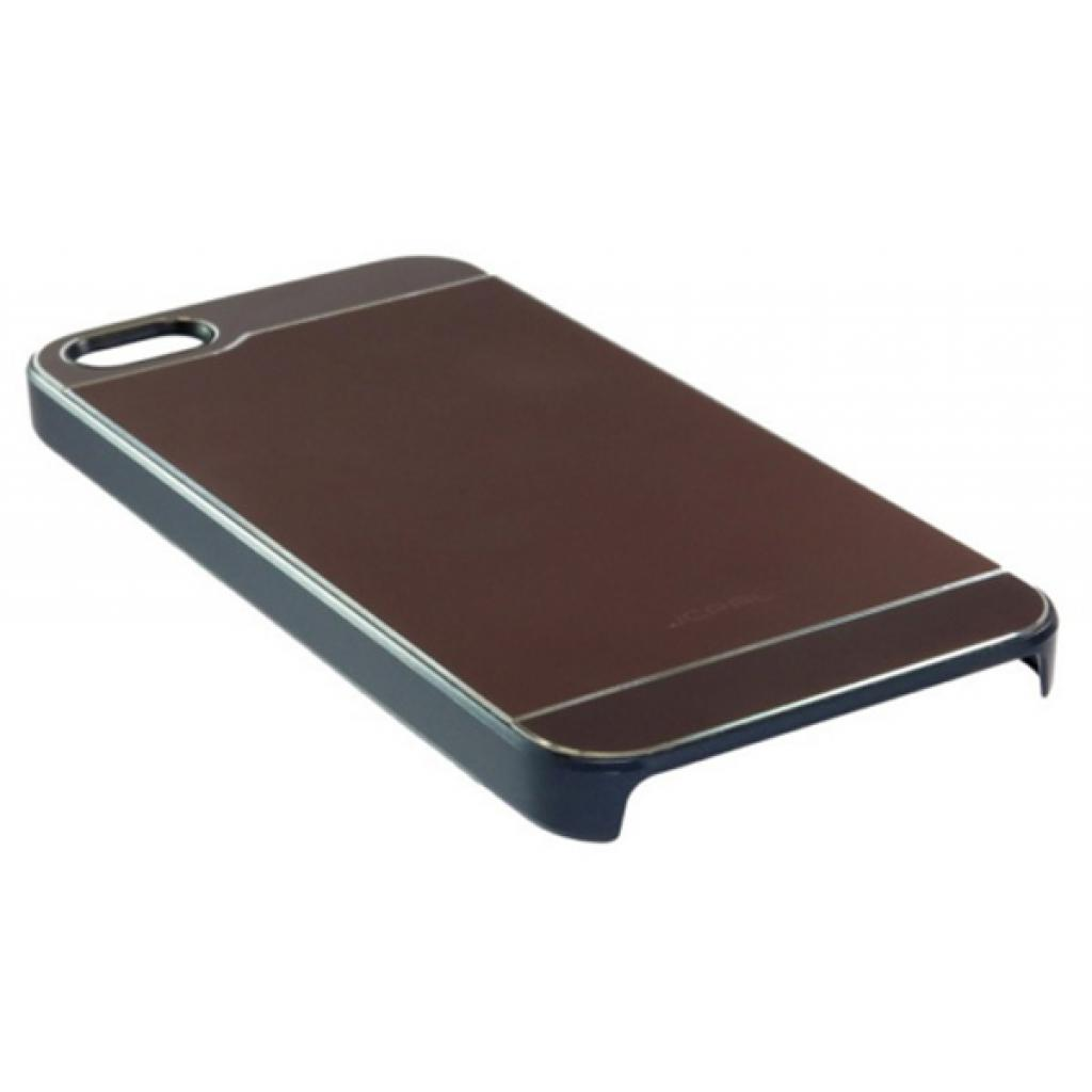 Чехол для моб. телефона JCPAL Aluminium для iPhone 5S/5 (Smooth touch-Brown) (JCP3106) изображение 4