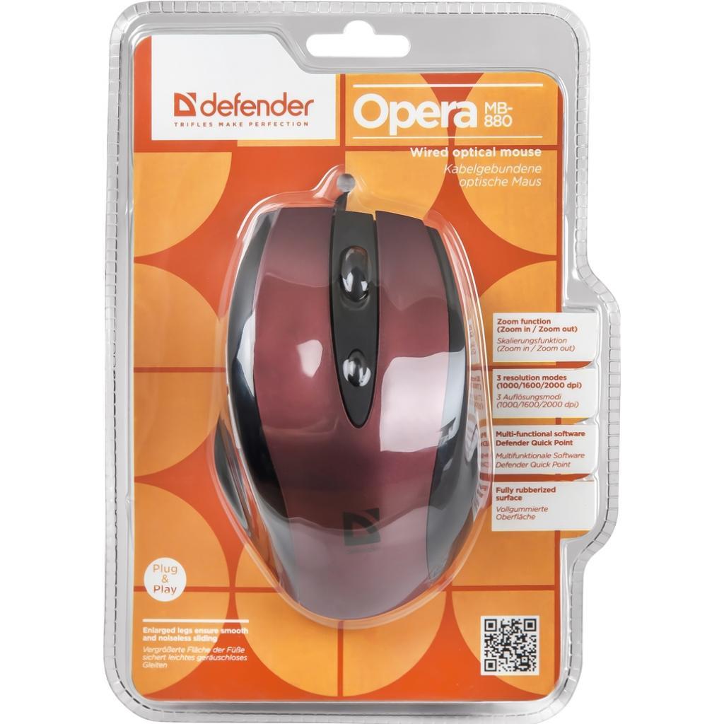 Мышка Defender Opera 880 (52832) изображение 4