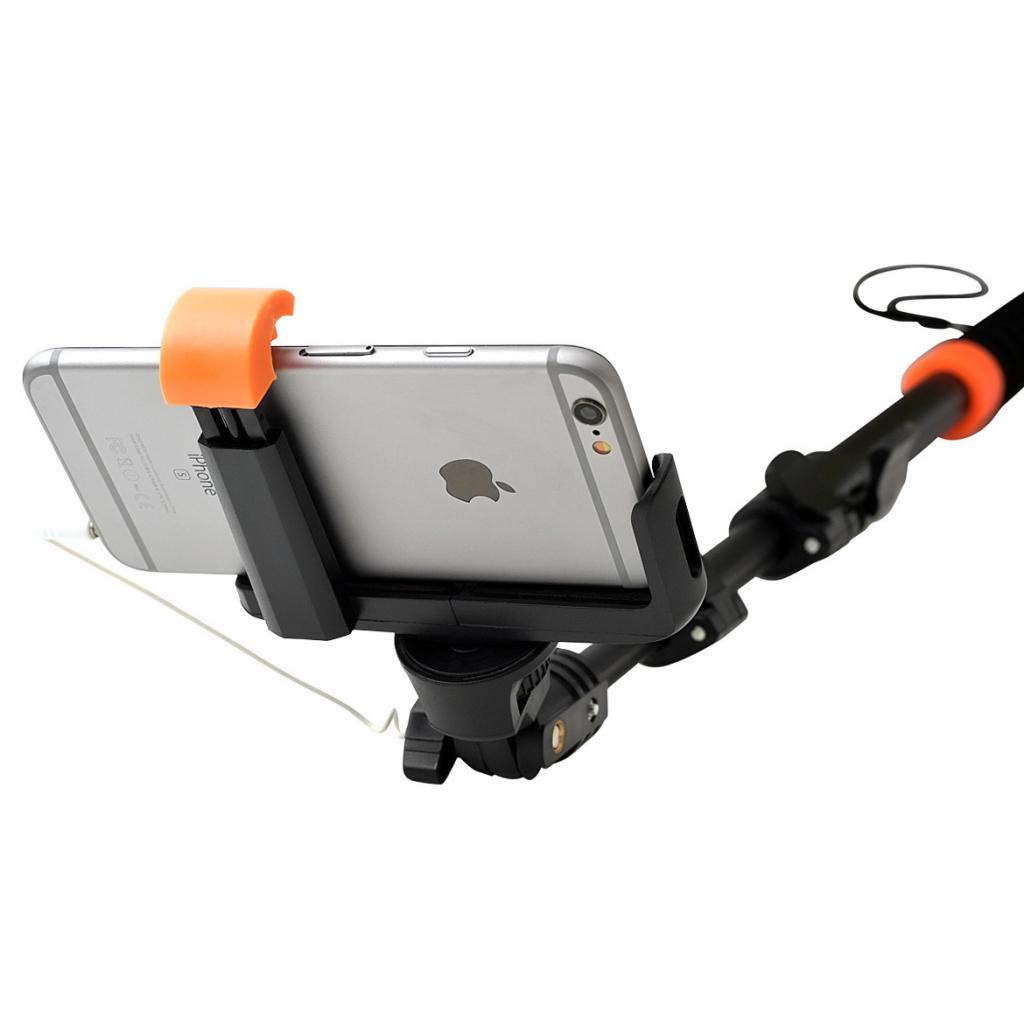 Монопод для селфи Grand-X Pro c кабелем L-крепление алюминий (MPGPAJ3LBR) изображение 4