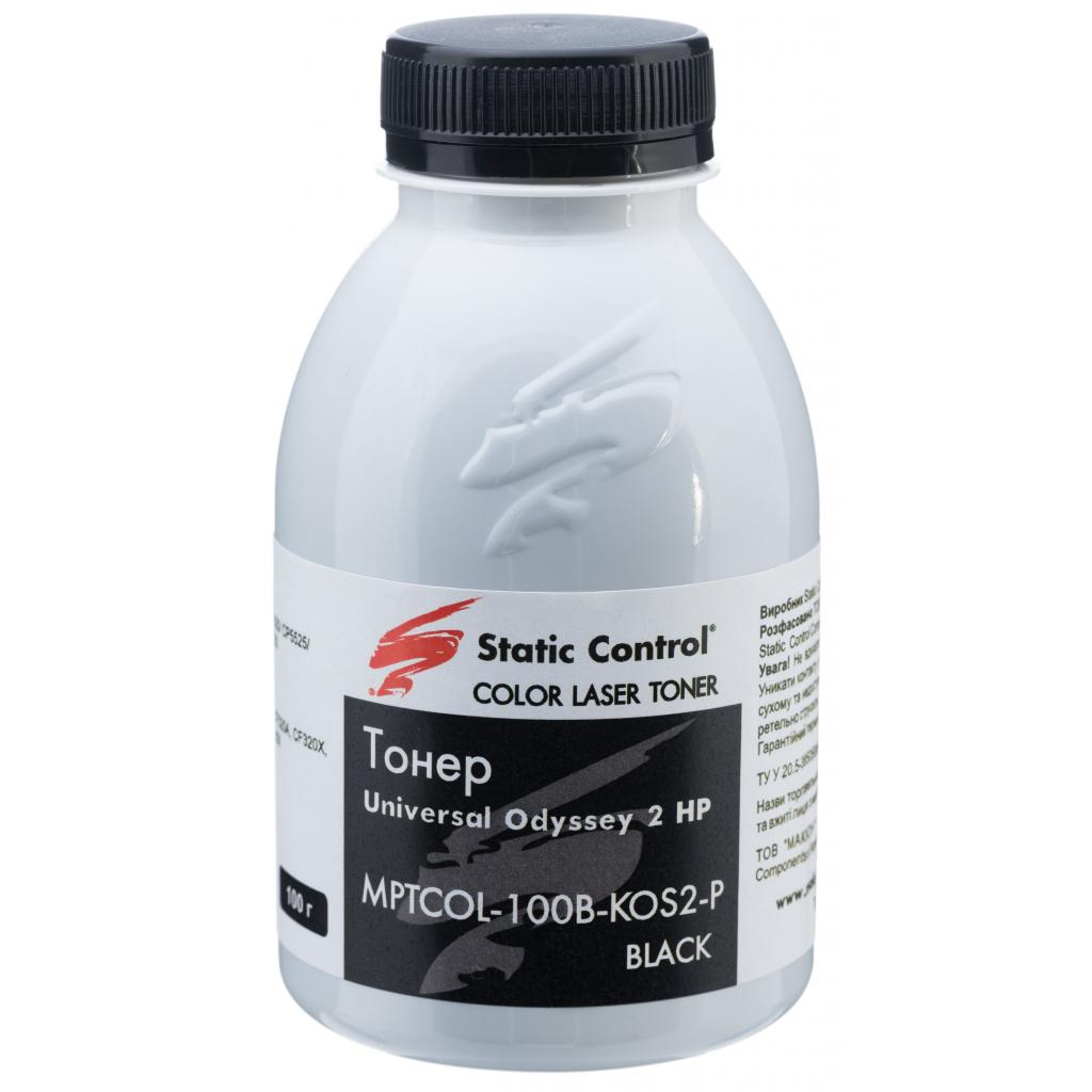 Тонер Static Control HP CLJ Enterprise Universal Black (MPTCOL-100B-KOS2-P)
