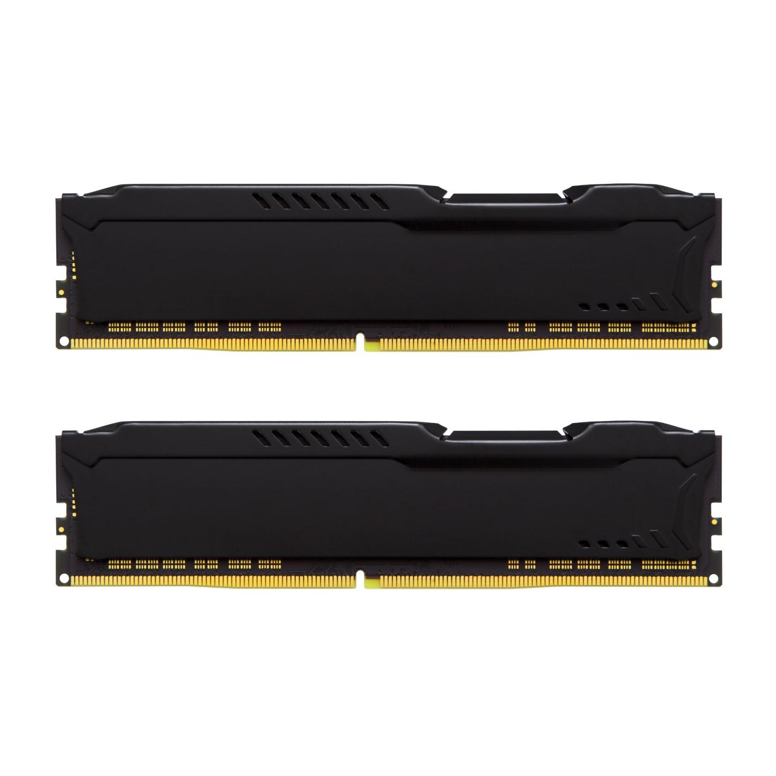 Модуль памяти для компьютера DDR4 32GB (2x16GB) 2133 MHz HyperX FURY Black Kingston (HX421C14FBK2/32) изображение 3