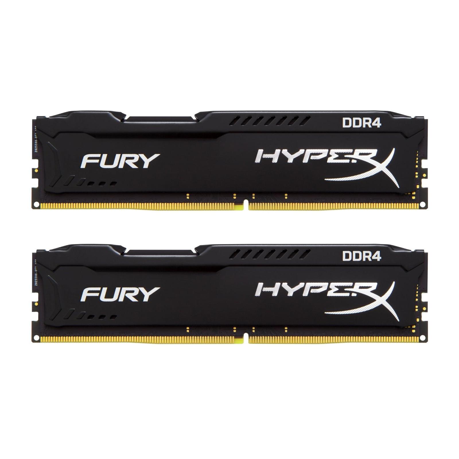 Модуль памяти для компьютера DDR4 32GB (2x16GB) 2133 MHz HyperX FURY Black Kingston (HX421C14FBK2/32)