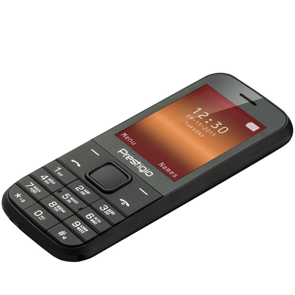 Мобильный телефон PRESTIGIO 1240 Duo Black (PFP1240DUOBLACK) изображение 5
