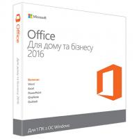 Офисное приложение Microsoft Office 2016 Home and Business Ukrainian (T5D-02734)