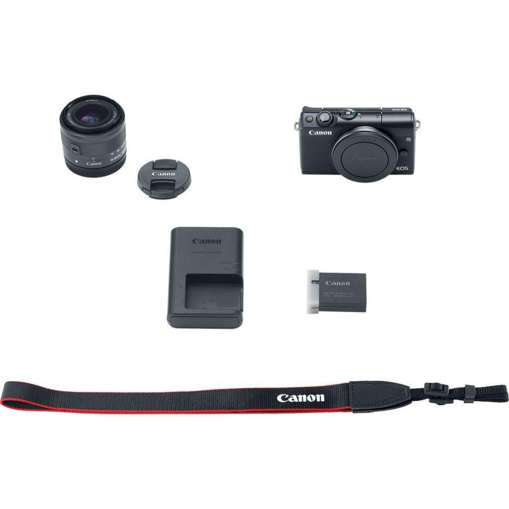Цифровой фотоаппарат Canon EOS M100 + 15-45 IS STM Black (2209C048) изображение 12