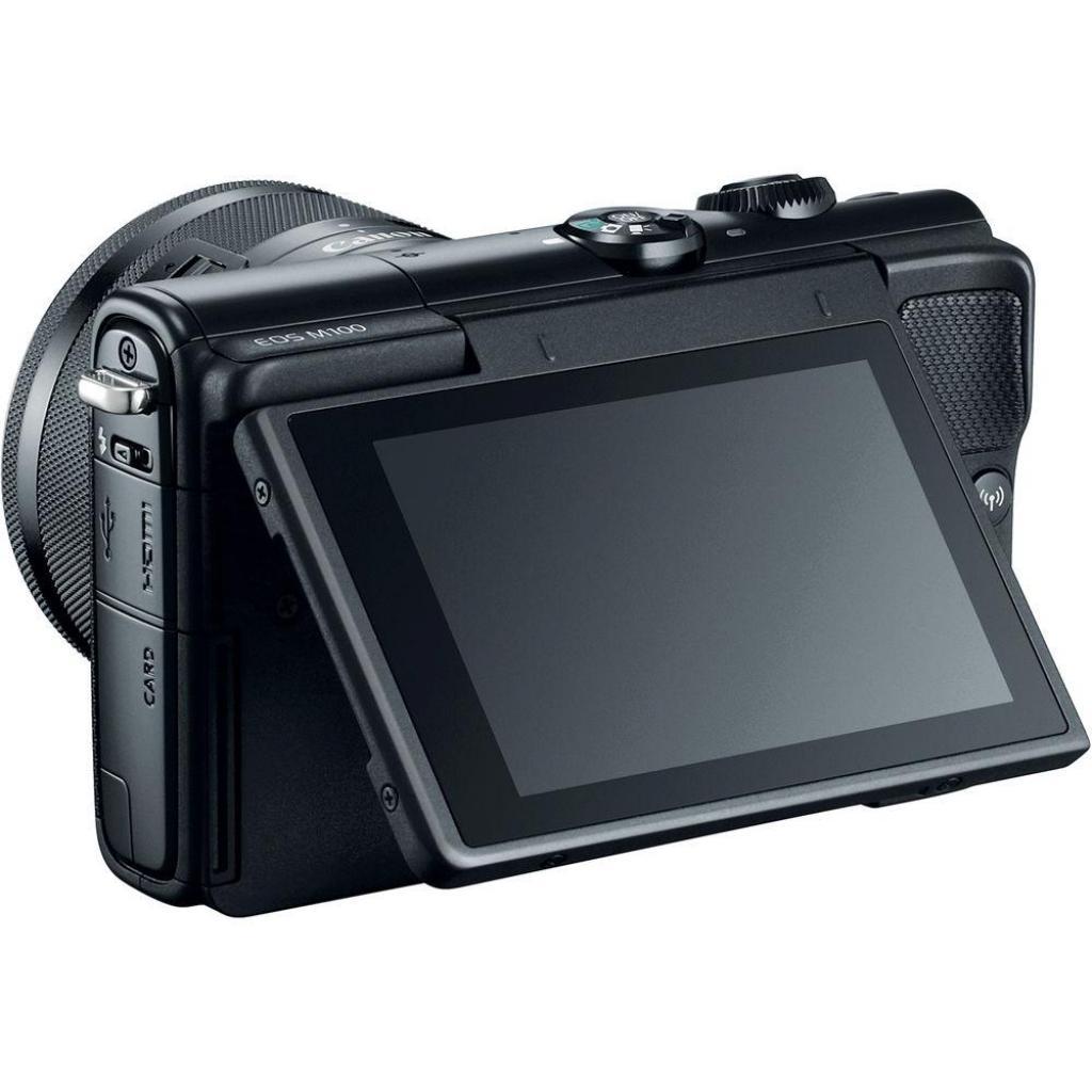 Цифровой фотоаппарат Canon EOS M100 + 15-45 IS STM Black (2209C048) изображение 5