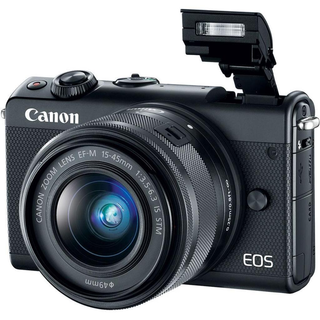 Цифровой фотоаппарат Canon EOS M100 + 15-45 IS STM Black (2209C048) изображение 8