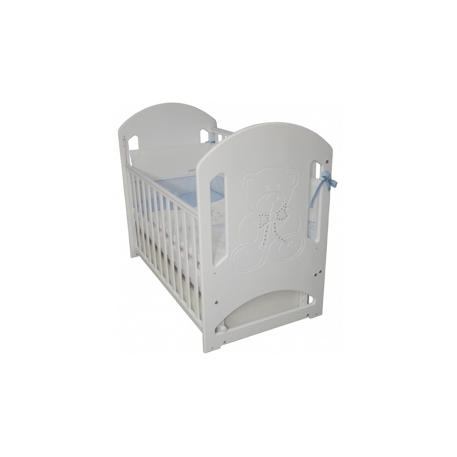 Кроватка Верес Соня ЛД-8 Белый декор.(ящ.+ маят.) (08.1.61.3.06) изображение 2