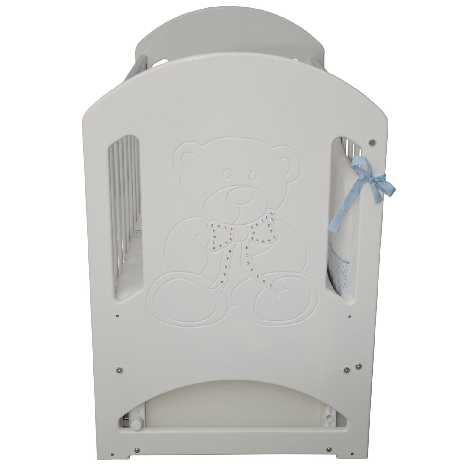 Кроватка Верес Соня ЛД-8 Белый декор.(ящ.+ маят.) (08.1.61.3.06) изображение 4
