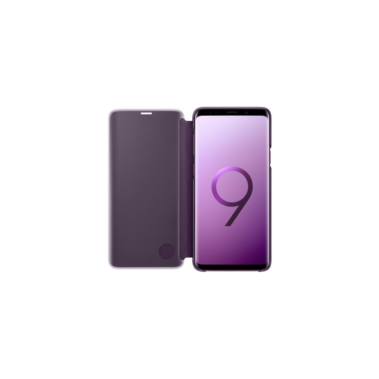 Чехол для моб. телефона Samsung для Galaxy S9+ (G965) Clear View Standing Cover Orchid (EF-ZG965CVEGRU) изображение 4