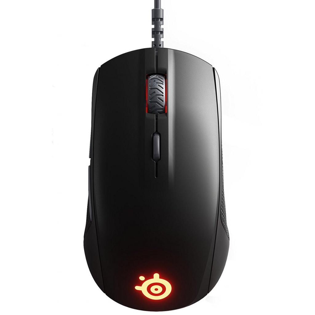 Мышка SteelSeries Rival 110 black (62466)
