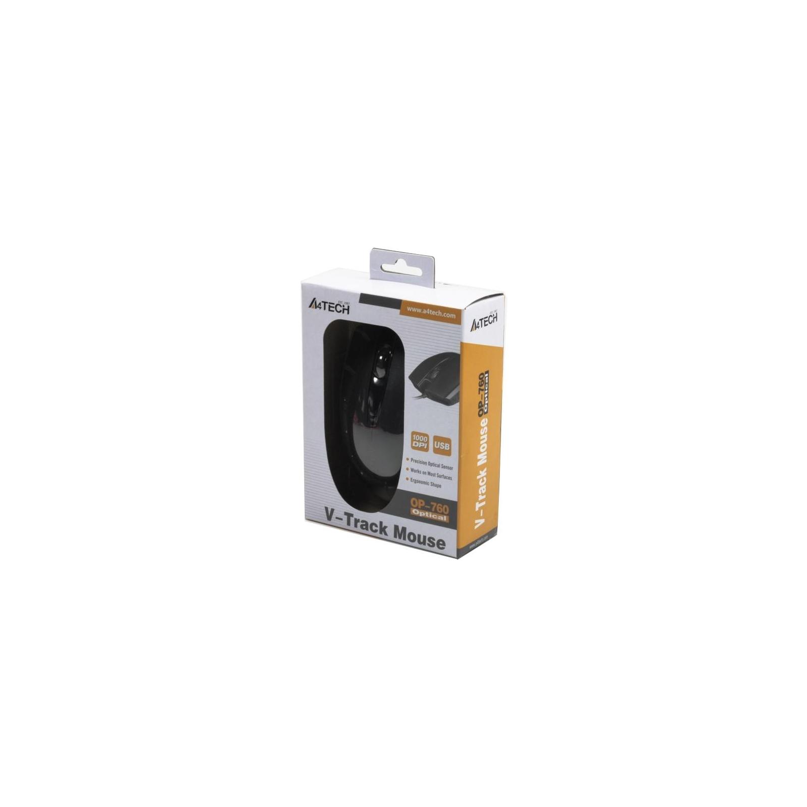 Мышка A4tech OP-760 Black изображение 4