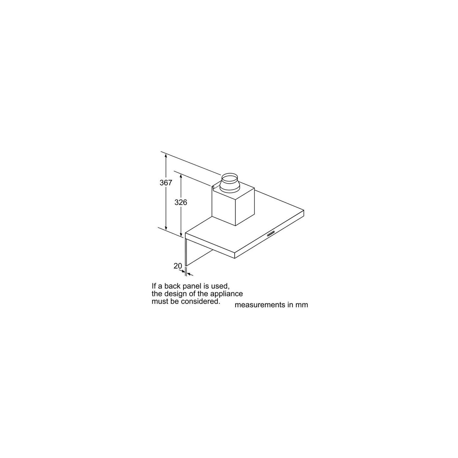 Вытяжка кухонная Bosch DWB66DM50 изображение 7