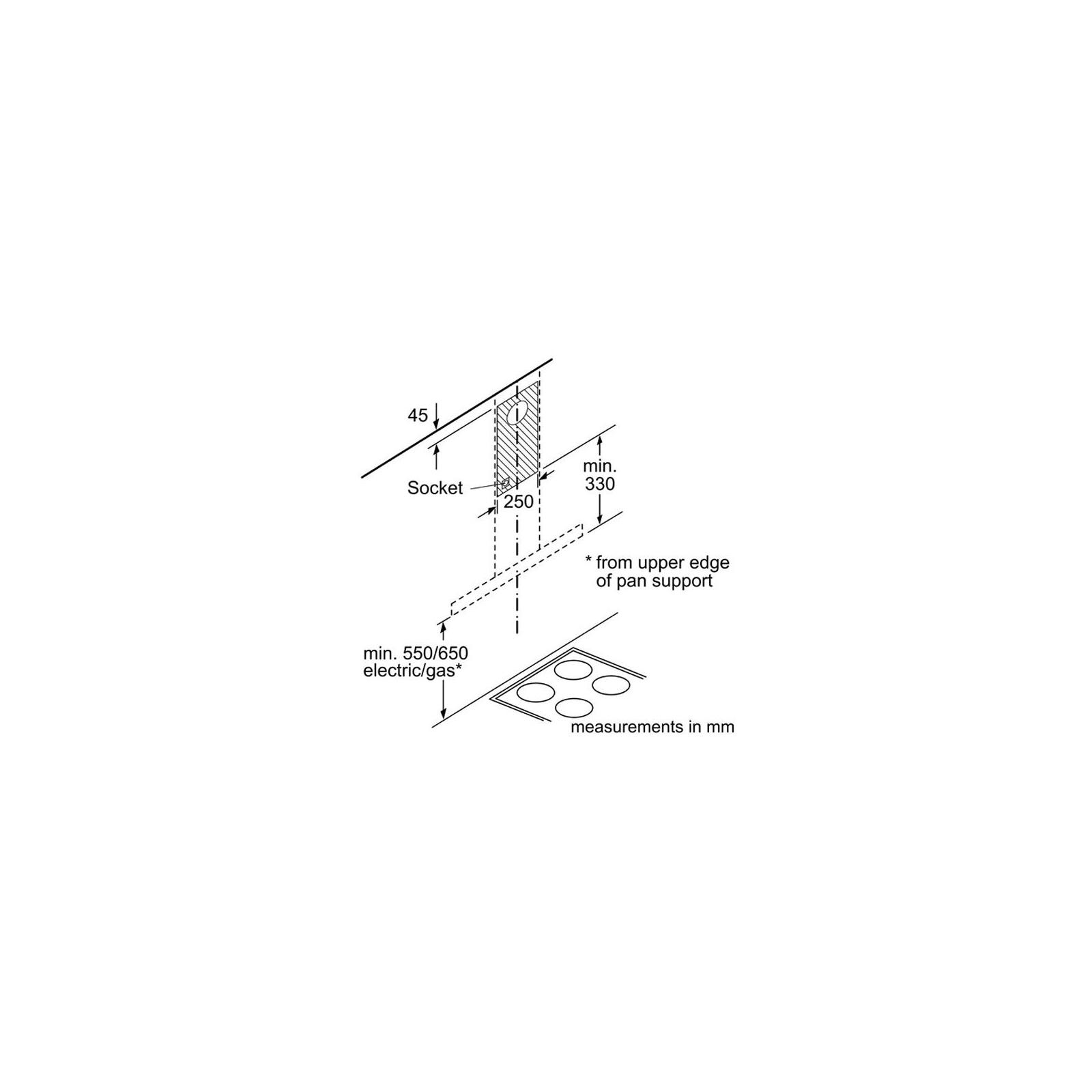 Вытяжка кухонная Bosch DWB66DM50 изображение 9