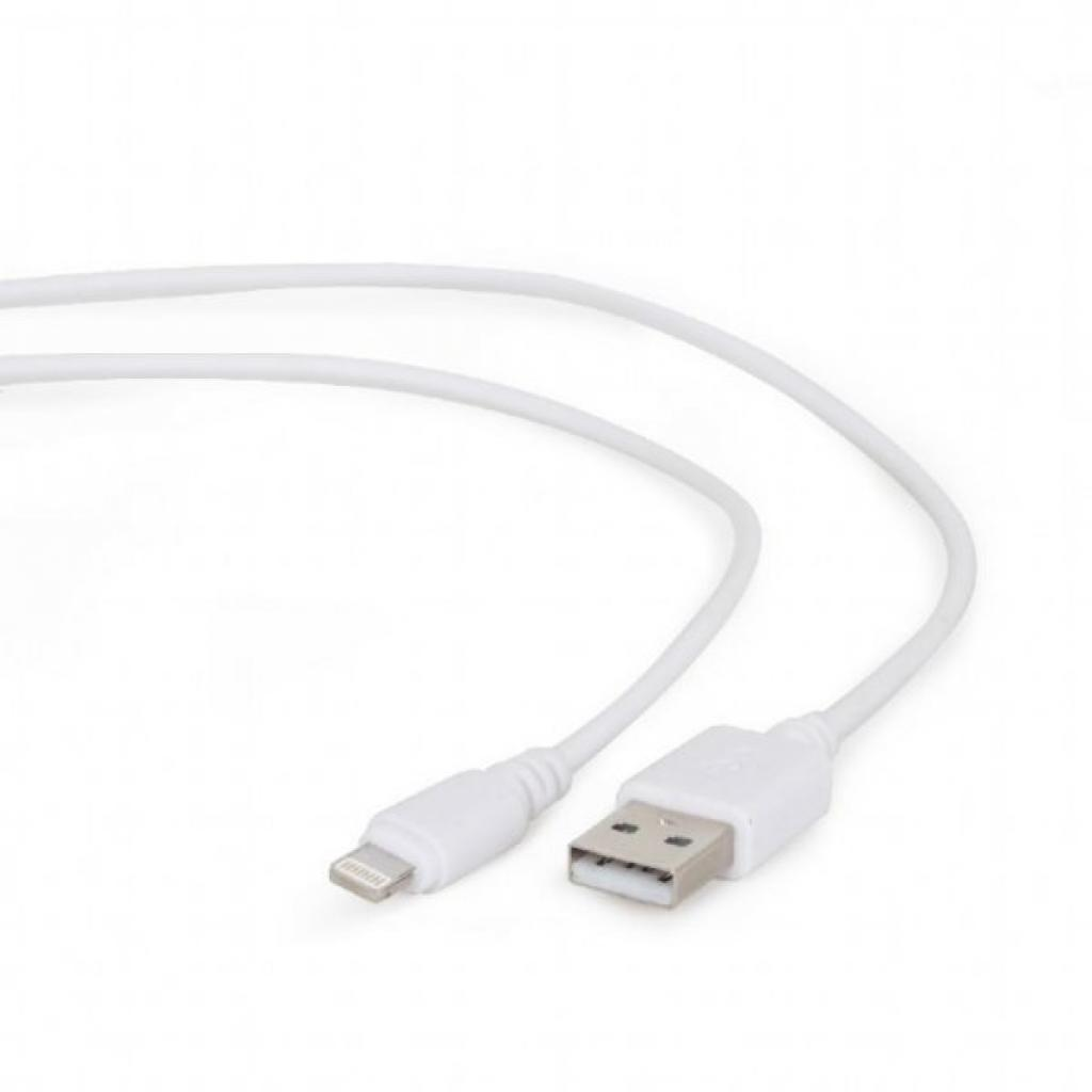 Дата кабель USB 2.0 AM to Lightning 0.5m Cablexpert (CC-USB2-AMLM-W-0.5M)