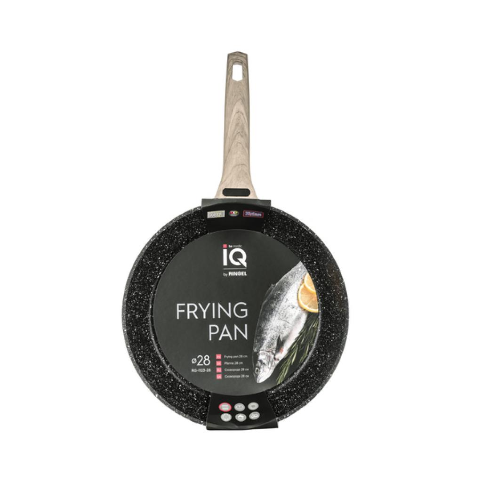 Сковорода Ringel IQ Nordic 24 см (RG-1123-24) изображение 5