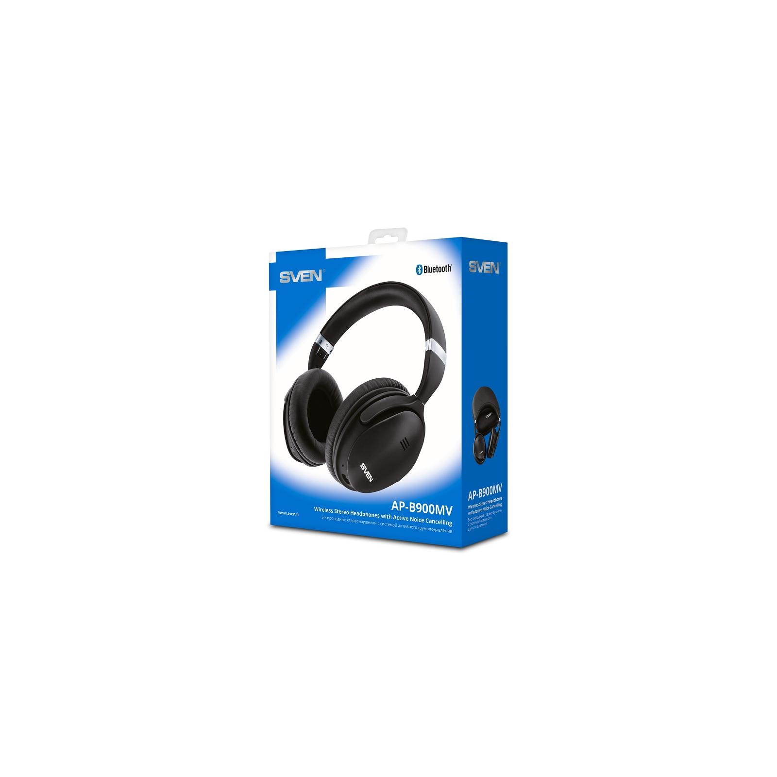 Наушники Sven AP-B900MV Black Bluetooth (AP-B900MV black) изображение 11