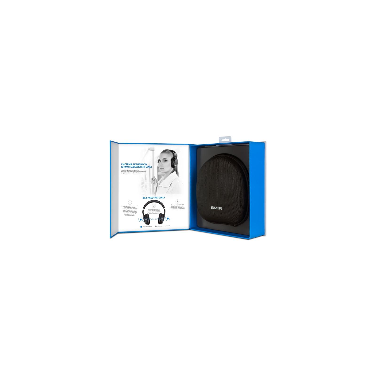 Наушники Sven AP-B900MV Black Bluetooth (AP-B900MV black) изображение 9