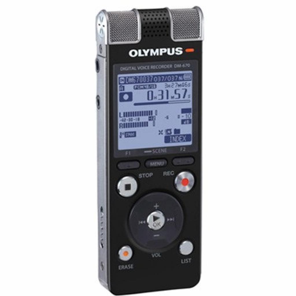 Цифровой диктофон OLYMPUS DM-670 (V407111BE000)