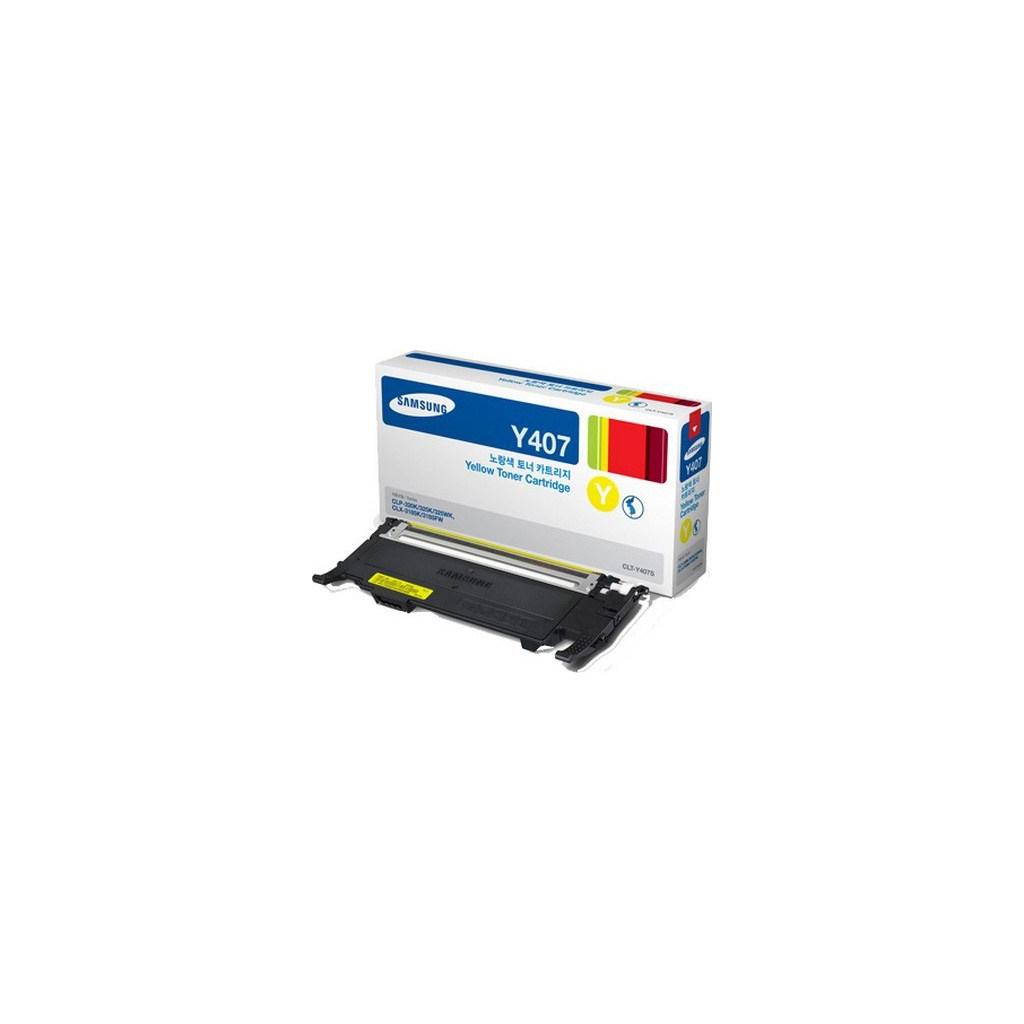 Картридж Samsung CLP-320 Yellow (CLT-Y407S)