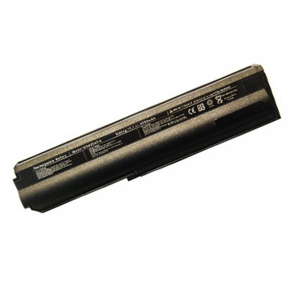 Аккумулятор для ноутбука Roverbook M540BAT-6 Clevo M545 BatteryExpert (M540BAT-6 L 52)