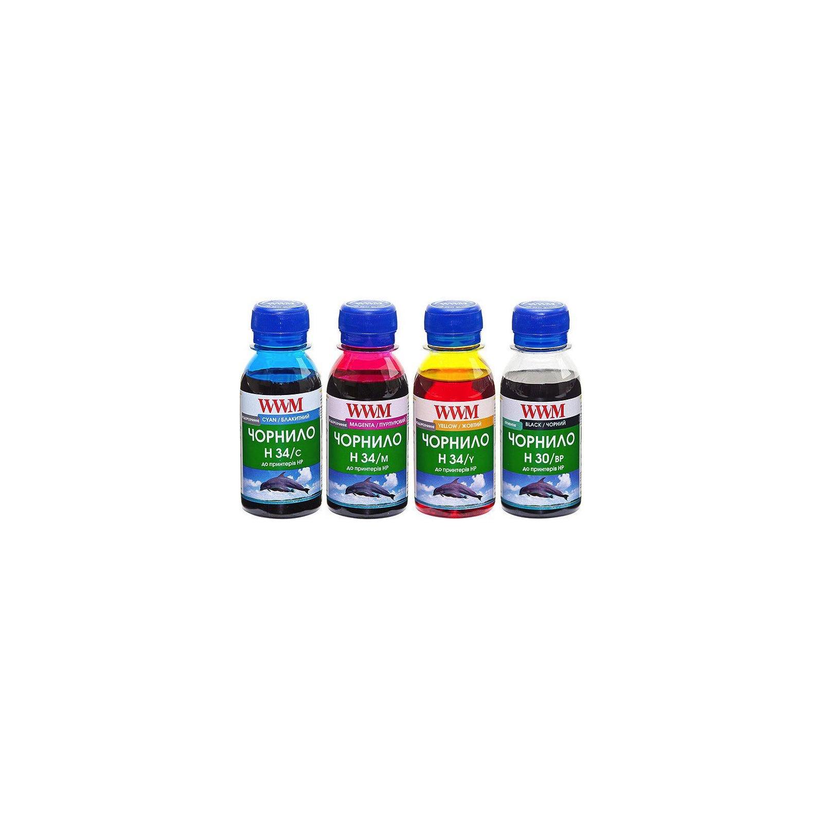 Чернила WWM HP № 21/22/121/136 BP/C/M/Y SET (H30/34SET-2)
