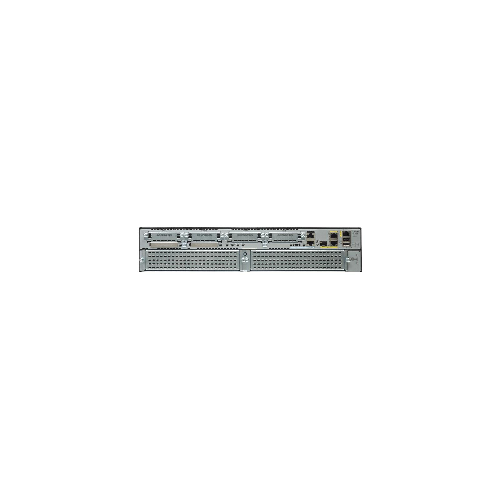 Маршрутизатор Cisco CISCO2921-SEC/K9 изображение 2