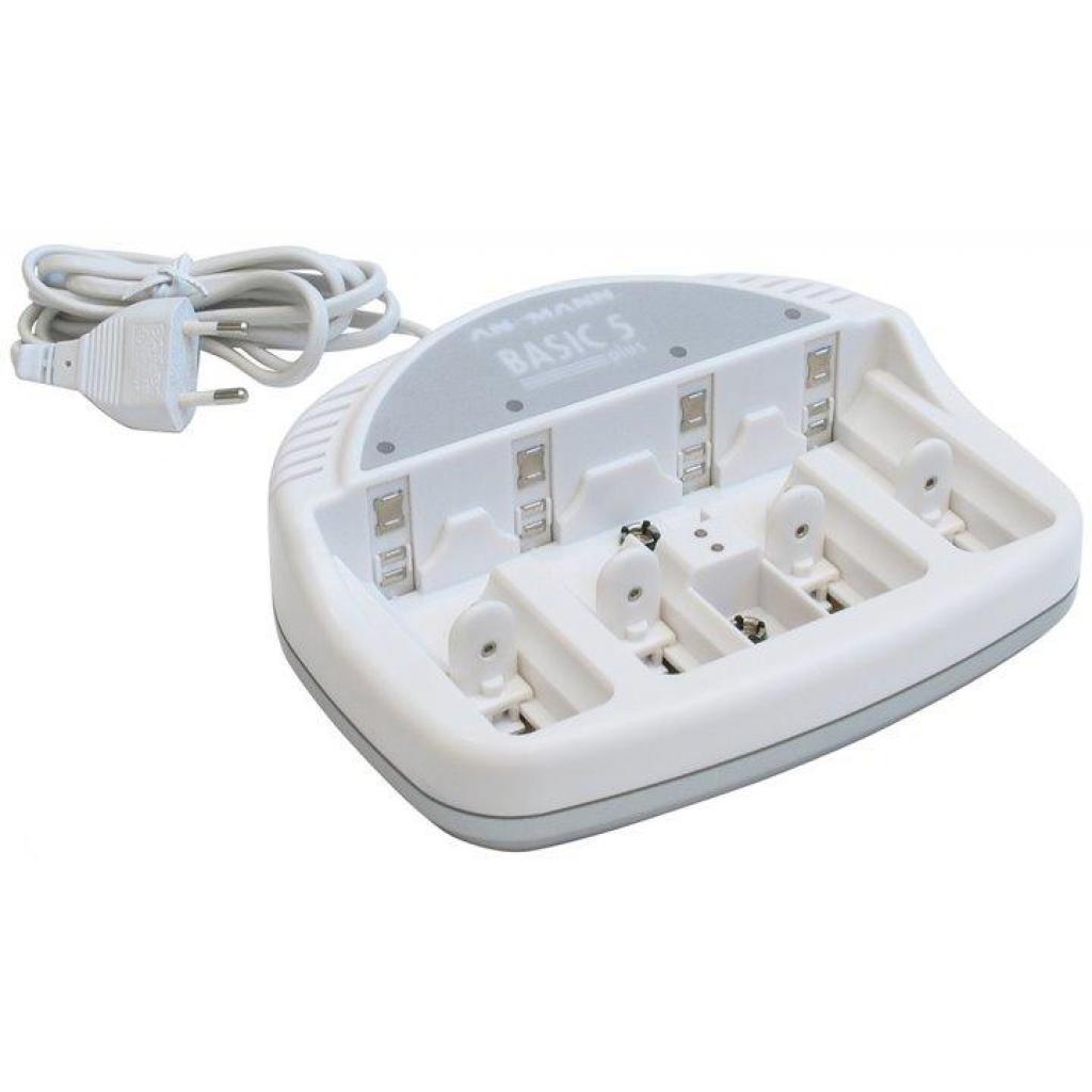 Зарядное устройство для аккумуляторов Ansmann Basic 2 plus 5*AA/AAA (5207303)