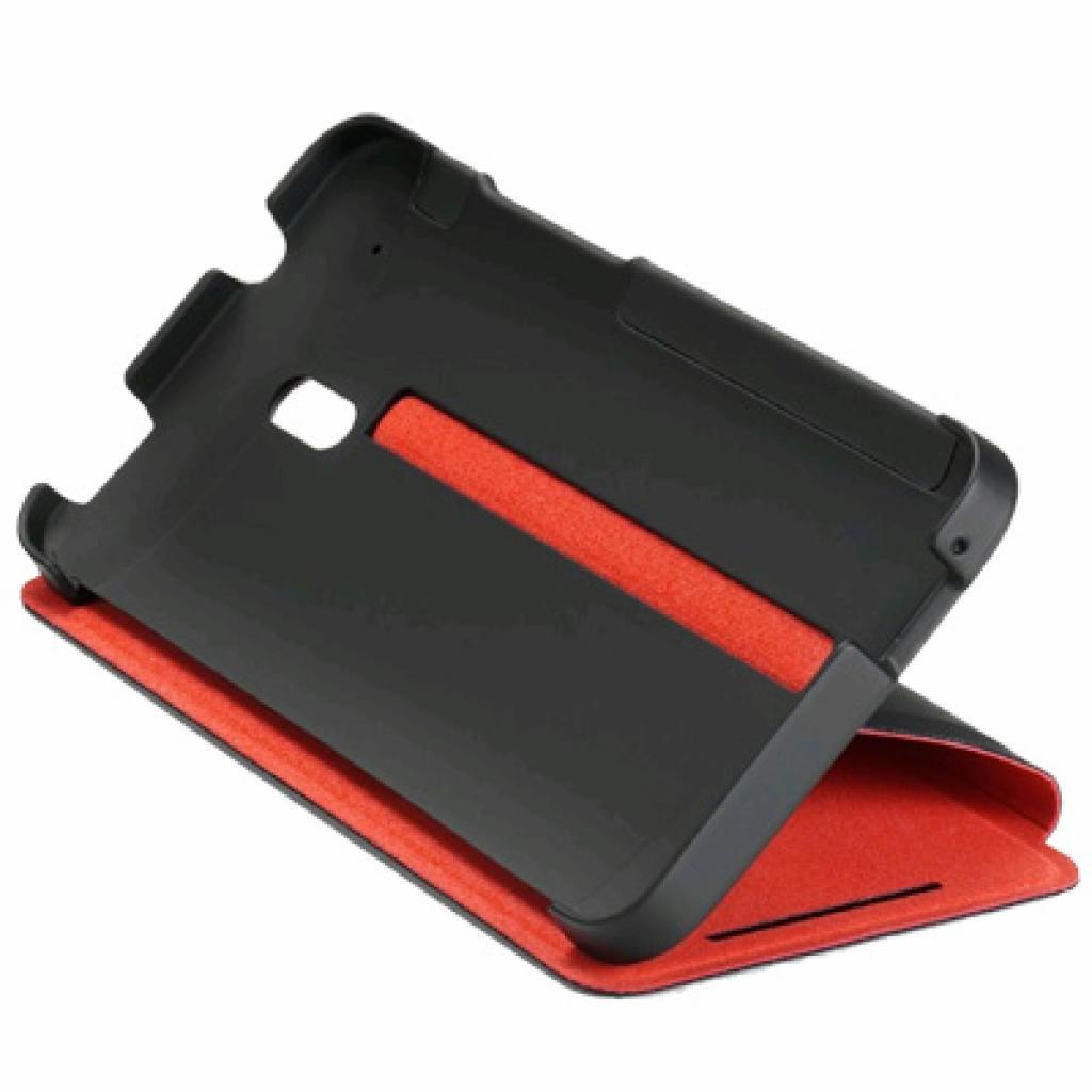 Чехол для моб. телефона HTC для HTC One Mini (HC V851 Black-Red) (99H11218-00)