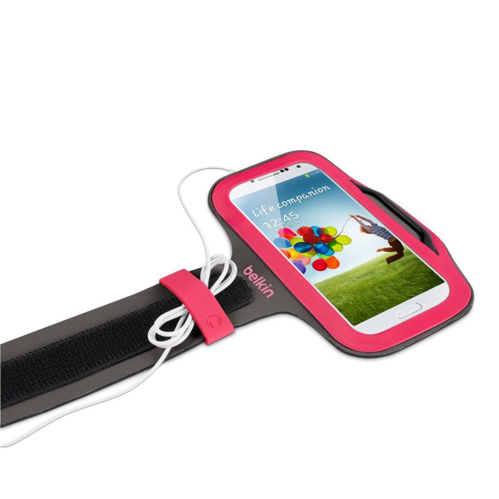 Чехол для моб. телефона Belkin Galaxy S4 mini SlimFit Armband/Pink (F8M558btC01) изображение 2