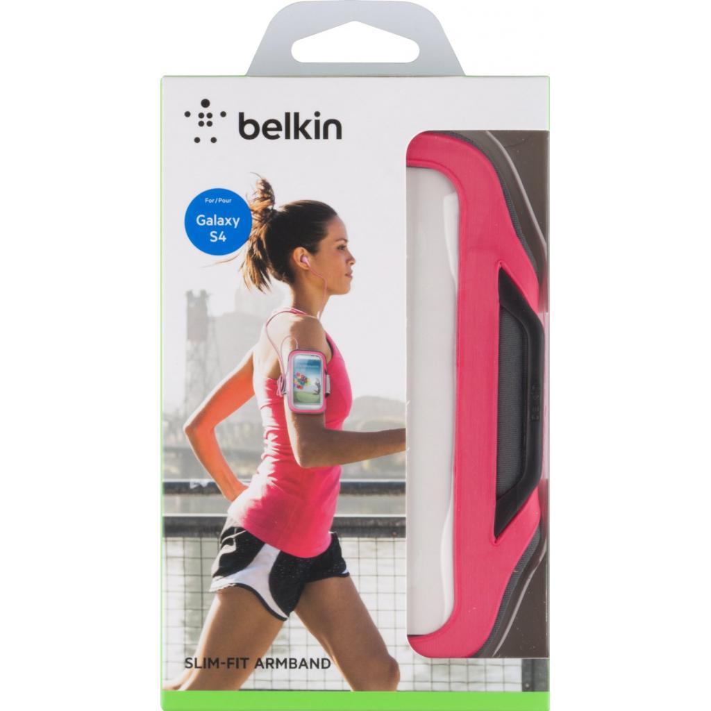 Чехол для моб. телефона Belkin Galaxy S4 mini SlimFit Armband/Pink (F8M558btC01) изображение 3