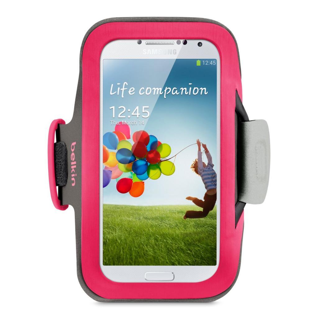 Чехол для моб. телефона Belkin Galaxy S4 mini SlimFit Armband/Pink (F8M558btC01)