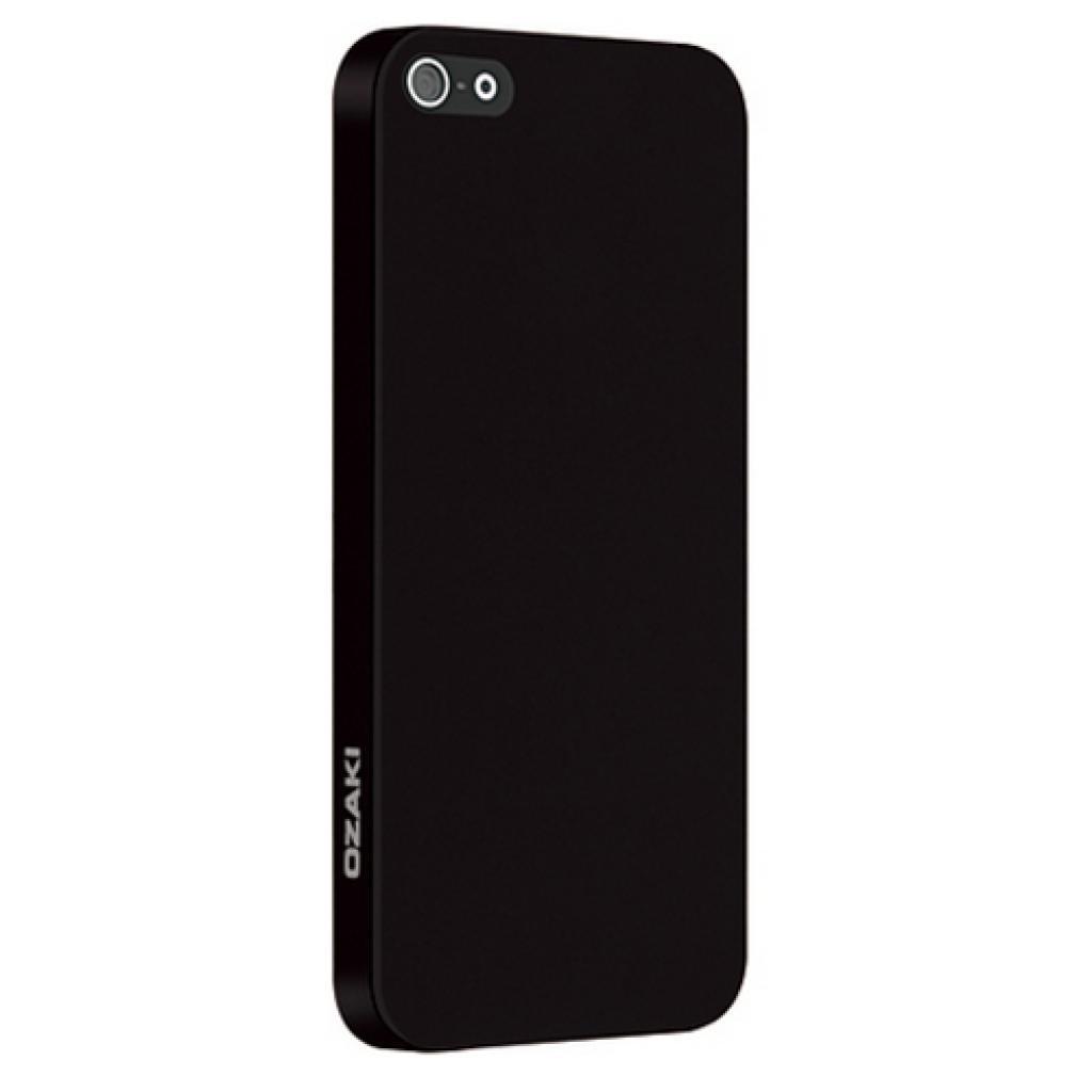 Чехол для моб. телефона OZAKI iPhone 5/5S O!coat 0.3 SOLID/Black (OC530BK)