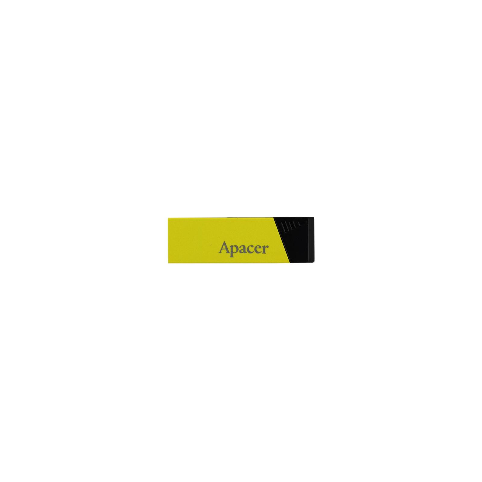 USB флеш накопитель 32GB AH131 Yellow RP USB2.0 Apacer (AP32GAH131Y-1)