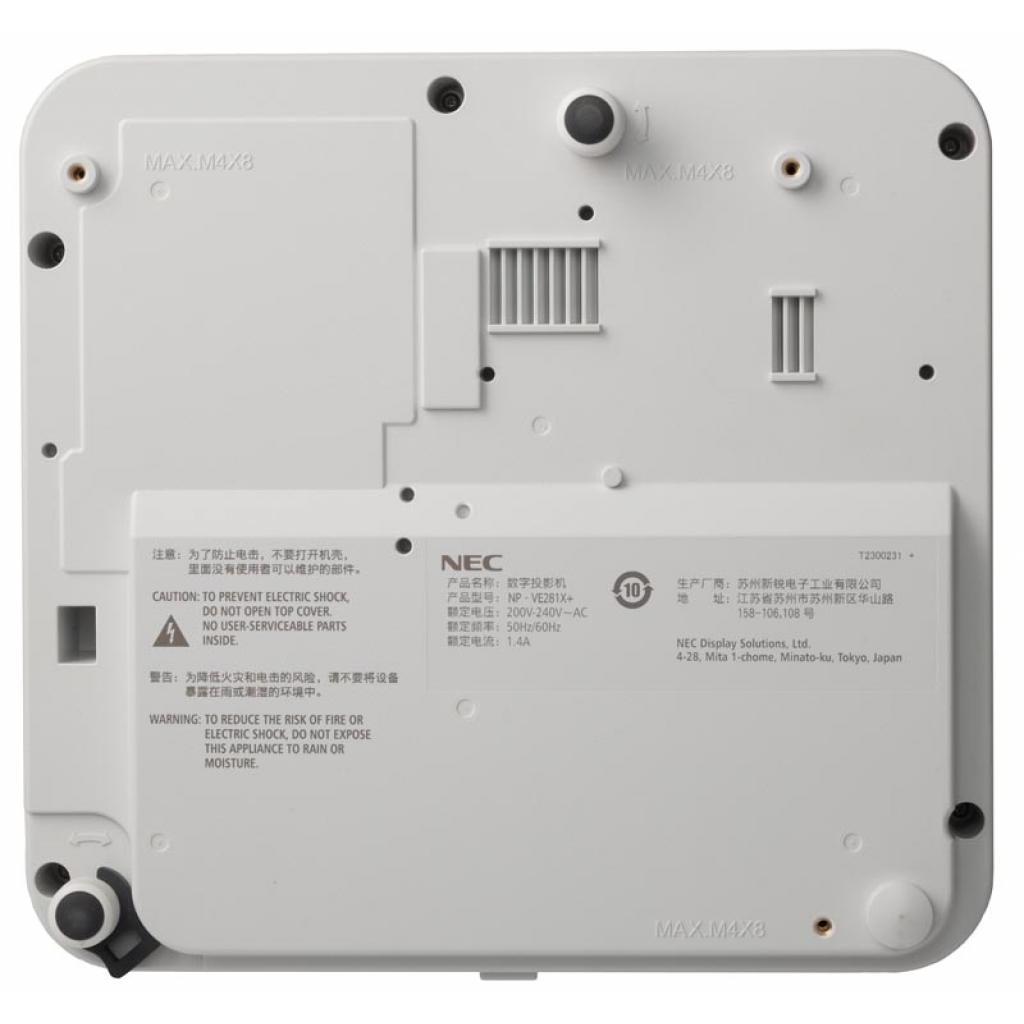 Проектор NEC VE281 (60006320) изображение 5