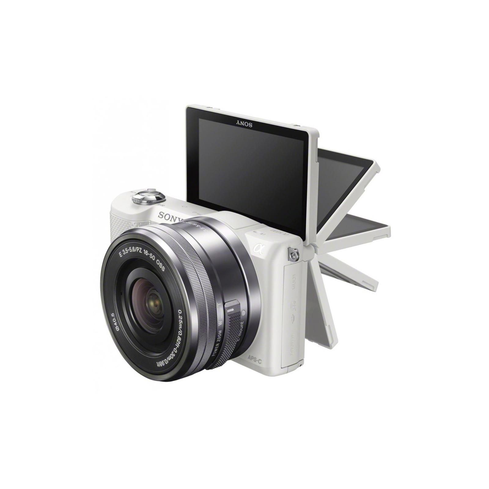 Цифровой фотоаппарат SONY Alpha 5000 kit 16-50 White (ILCE5000LW.CEC) изображение 7